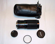 Vintage Kalimar No 84002394 MC MD Mount Minolta 1:3.9 80 – 200mm Camera Lens