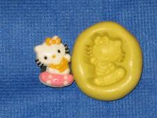 Hello Kitty on Skateboard Push Mold Food Safe Silicone #805 Cake Chocolate