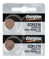 2 pcs Energizer CR1216 Watch Batteries