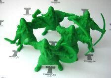 Varangians 54 mm - 5 Figures Soft plastic Tehnolog Russian toy soldiers