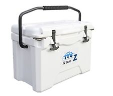 Kulrz 22 Quart Cooler Ice Chest Box Small Roadie Travel & Picnic Size Bucket