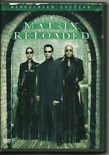 MATRIX RELOADED ~ 2003 2 -DISC DVD w/EXTRAS / KEANU REEVES  & CARRIE-ANN MOSS