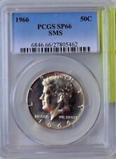 1966 KENNEDY SMS PCGS SP66 HALF $ COLLECTIBLE VINTAGE US MONEY GIFT IDEA 132
