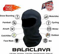 NEW Balaclava FaceMask Motorbike Motorcycle Cycling Ski Under Helmet Neck Warmer
