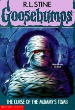 The Curse of the Mummy's Tomb (Goosebumps) by R. L. Stine, Good Book