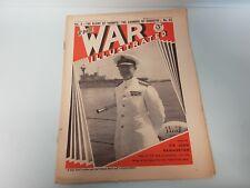 The War Illustrated No. 65 Vol 3 1940 Cunningham Taranto Fleet Air arm