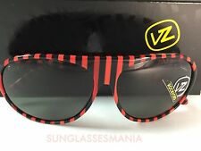CRAZY SALE: VON ZIPPER ROCKFORD RED BLACK   GREY LENS SUNGLASSES RJL