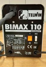 Telwin Bimax 110 saldatrice a filo animato, ricondizionata, mai usata