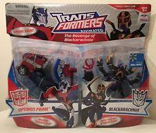 Transformers Animated The Revenge of Blackarachnia Optimus Prime 2-pack Walmart