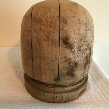 wooden block round crown /MILLINERY WOOD BLOCK HAT MAKING /FORM/MOLD/BRIM