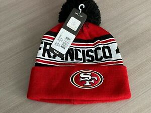 San Francisco 49ers NFL Team Apparel Youth Cuffed Knit Hat