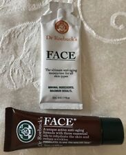 New Dr. Roebuck's FACE Anti-Aging Moisturizer .68 oz & .17 oz Natural Skin Care