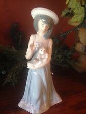 """Lladro """"Elizabeth"""" Girl With Dog Figurine #5645"""