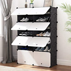 JOISCOPE MEGAFUTURE Portable Shoe Storage Organzier Tower, Modular Cabinet for