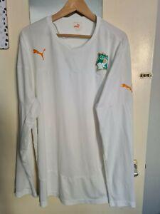 Mens Puma Ivory Coast Football Shirt Away XXL