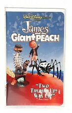 James and the Giant Peach (VHS, 1996) Walt Disney Home Video White Clamshell