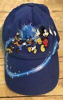 Walt Disney World Kids Baseball Hat Mickey, Donald, Goofy, Pluto Used
