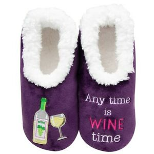 Snoozies  cosy feet coverings Style pairables Wine Time  Colour Purple New