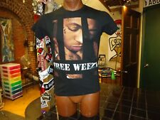 Lil Wayne Free Weezy black small t-shirt, American rapper from New Orleans