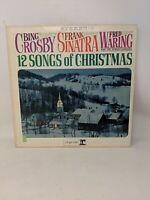 Vintage Vinyl - 12 Songs of Christmas - Bing Crosby, Frank Sinatra, Fred Waring