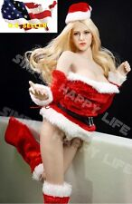 1/6 female clothes Christmas suit santa sexy for phicen hot toys verycool ❶USA❶