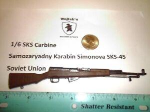 LA7   1/6 Homemade SKS Samozaryadny Karabin Simonova  Model SKS-45 Soviet Union