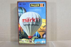 FALLER 1004 HO SCALE MARKLIN HOT AIR BALLOON MODEL KIT oa