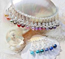 2-3 bis10-11 mm AA Zuchtperlen Strang Süßwasser Perlen Schmuck Halskette Oval