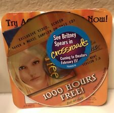 * * * BRITNEY SPEARS sealed AOL Disc CD * * *