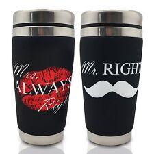 Mugzie Couple Coffee Mug Set-Mr Mrs Wetsuite Cover-Bridal Shower Wedding Newly