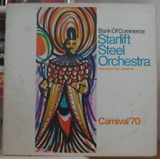 STARLIFT STEEL ORCHESTRA 1969 PANORAMA WINNERS CARNIVAL '70 CANADA PRESS LP