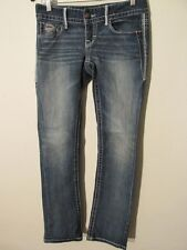 F2284 Maurices Premium Stretch High Grade Straight Jeans Women's 30x32