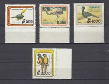 TIMBRE STAMP 4 PARAGUAY Y&T#1173-76 OISEAU PERROQUET NEUF**/MNH-MINT 1990 ~C02
