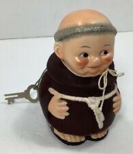 New ListingVintage Hummel Goebel Friar Tuck Monk Piggy Bank with Key & Original Strings