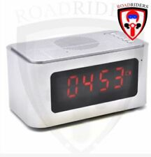 Roadriders' S-61 Wireless Bluetooth Speaker with Alarm Clock Function Gray