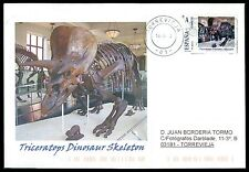 Spain dinosaur dinosaure dinosaurios-Custom Stamp-only 5 cover Made!!! cg40
