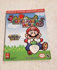 Super Mario Advance Prima's Official Strategy Guide