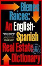 Bienes races: diccionario ingls/espaol