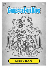 WAX.io / Topps DIGITAL ONLY Garbage Pail Kids DRIPPY DAN 23a SKETCH Card crypto