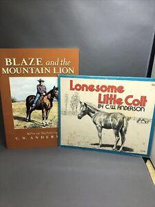 Vintages Children's horse books C. W. Anderson