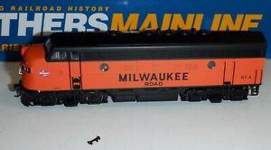 Walthers Mainline  HO scale - Milwaukee Road F7A  #81A  DCC ESU Lok Sound