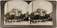 Turchia Costantinopoli Sainte-Sophie Foto Stereo Vintage Analogica c1900