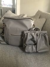 Fawn Design - The Original Diaper Bag (Gray) With Limited Ed. ToteSavvy!