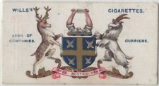 Worshipful Company Of Curriers Leather Tanning Hide 00+ Y/O Trade Ad Card