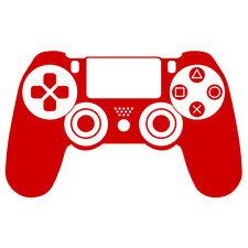 Playstation 4 Controller Decal Vinyl Sticker avaliabe in Multi color