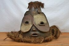 African tribal art Bembe Helmet with Multiple Faces from Kalunga.