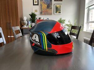 Jeff Gordon Axalta Retro 2015 Full Size Helmet HMS Rainbow