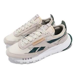 Reebok CL Legacy Grey Ivory Green Men Unisex Casual Lifestyle Shoes FZ2924