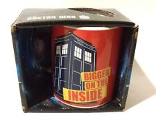 Doctor Who Bigger On the Inside 11 oz. Ceramic Coffee Tea Mug BBC Classico