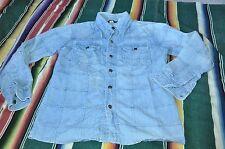 Vintage Vanderbilt Men Denim Western ROCKABILLY Shirt M